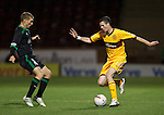Jamie Murphy dances the ball past David Wotherspoon