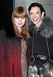 Flora Collins & Amy Fine Collins attending the Broadway Opening Night Performance of 'Cat On A Hot Tin Roof' at the Richard Rodgers Theatre in New York City on 1/17/2013