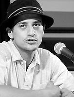 ID :   pr_000831C_185 et<br /> ConfÈrence de presse   Alizaoua(CO )  France-Maroc-Belgique<br /> Said Taghmoui, acteur<br /> MENTION OBLIGATOIRE :  © Pierre Roussel, 2000
