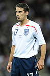 David Bentley of England during the Friendly International match at Wembley Stadium, London. Picture date 28th May 2008. Picture credit should read: Simon Bellis/Sportimage