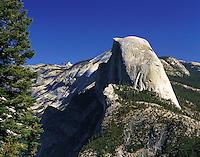 Half Dome, seen from near Glacier Point, Yosemite National Park, California, US