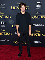 "LOS ANGELES, USA. July 10, 2019: David Dobrik at the world premiere of Disney's ""The Lion King"" at the Dolby Theatre.<br /> Picture: Paul Smith/Featureflash"