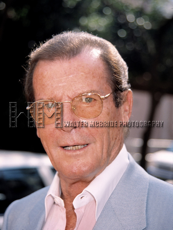 Roger Moore attending The N.A.T.P.E. TV Convention, New Orleans. on January 25, 1999