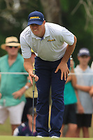 Jamie Arnold (AUS) on the 2nd green during Round 4 of the Australian PGA Championship at  RACV Royal Pines Resort, Gold Coast, Queensland, Australia. 22/12/2019.<br /> Picture Thos Caffrey / Golffile.ie<br /> <br /> All photo usage must carry mandatory copyright credit (© Golffile   Thos Caffrey)
