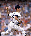 New York Yankees Tommy John(25) in action during a game from the 1980 season at Yankee Stadium in the Bronx, New York. Tommy John played for 26 years with 6 different teams.David Durochik/SportPics