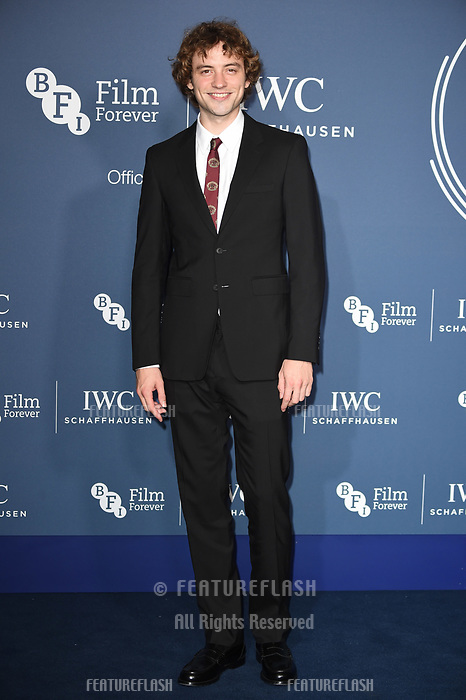LONDON, UK. October 09, 2018: Josh Whitehead arriving for the 2018 IWC Schaffhausen Gala Dinner in Honour of the BFI at the Electric Light Station, London.<br /> Picture: Steve Vas/Featureflash