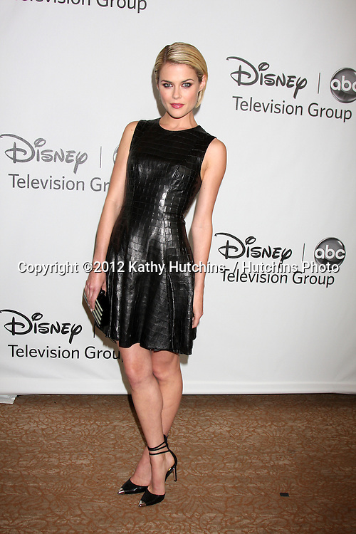 LOS ANGELES - JUL 27:  Rachael Taylor arrives at the ABC TCA Party Summer 2012 at Beverly Hilton Hotel on July 27, 2012 in Beverly Hills, CA