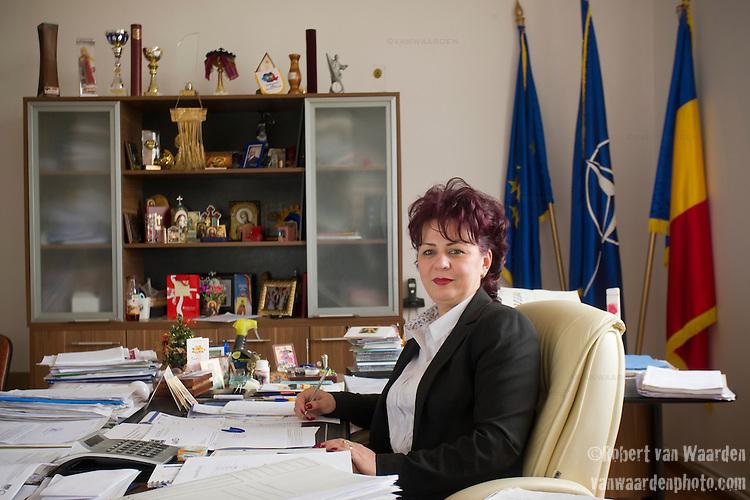 Ro?u Nu?i, mayor of Progresu and Fácáeni, Romania.