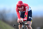 Tim Wellens (BEL) Lotto-Soudal in action during Stage 4 of the Paris-Nice 2018 an 18km individual time trial running from La Fouillouse to Saint-Etienne, France. 7th March 2018.<br /> Picture: ASO/Alex Broadway | Cyclefile<br /> <br /> <br /> All photos usage must carry mandatory copyright credit (&copy; Cyclefile | ASO/Alex Broadway)