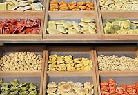 Nederland - Amsterdam - Januari 2019.  HORECAVA beurs in de RAI. Verse pasta.    Foto Berlinda van Dam / Hollandse Hoogte