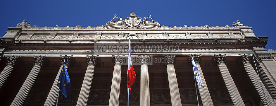 Europe/France/13/Bouches-du-Rhône/ Marseille: Palais de la Bourse - Musée de la Marine