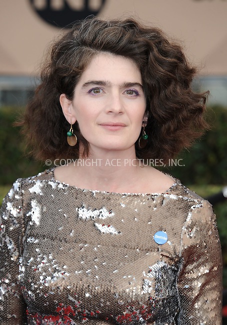 WWW.ACEPIXS.COM<br /> <br /> January 30 2016, LA<br /> <br /> Gaby Hoffmann arriving at the 22nd Annual Screen Actors Guild Awards at the Shrine Auditorium on January 30, 2016 in Los Angeles, California<br /> <br /> By Line: Peter West/ACE Pictures<br /> <br /> <br /> ACE Pictures, Inc.<br /> tel: 646 769 0430<br /> Email: info@acepixs.com<br /> www.acepixs.com