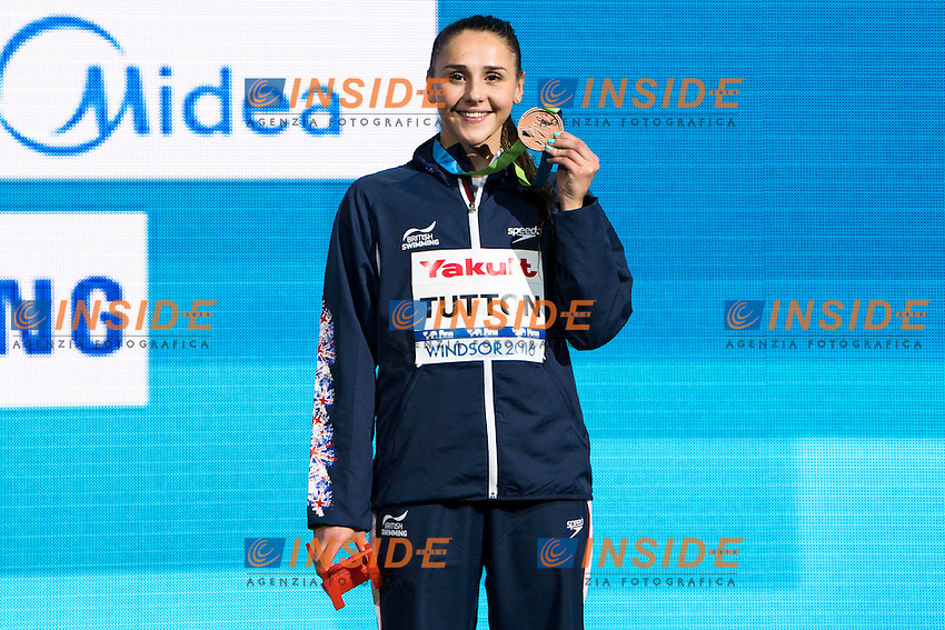 TUTTON Chloe GBR Bronze Medal<br /> Women's 200m Breaststroke<br /> 13th Fina World Swimming Championships 25m <br /> Windsor  Dec. 11th, 2016 - Day06 Finals<br /> WFCU Centre - Windsor Ontario Canada CAN <br /> 20161211 WFCU Centre - Windsor Ontario Canada CAN <br /> Photo &copy; Giorgio Scala/Deepbluemedia/Insidefoto