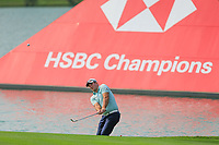Ryan Fox (NZL) third shot on the 9th fairway during the 2nd round at the WGC HSBC Champions 2018, Sheshan Golf CLub, Shanghai, China. 26/10/2018.<br /> Picture Fran Caffrey / Golffile.ie<br /> <br /> All photo usage must carry mandatory copyright credit (&copy; Golffile | Fran Caffrey)