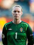Hedvig Lindahl, Sweden-Russia, Women's EURO 2009 in Finland, 08252009, Turku, Veritas Stadium.