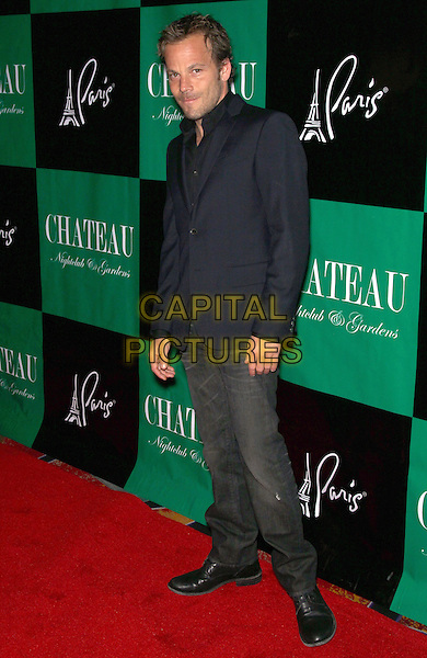 STEPHEN DORFF .host the night with a special performance by Asher Roth at Chateau Nightclub and Gardens,  Paris Las Vegas, NV, USA, 26th March 2011..full length jeans grey gray black blazer jacket shirt  .CAP/ADM/MJT.© MJT/AdMedia/Capital Pictures.