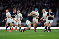 Jack Nowell of England in action