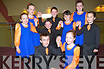 DANCERS: The Glenflesk figure dancers in rehearsals before they go on stage in the Lee Strand Scór NabPaistí,2014 in Tinteán Theatre,Ballybunion on Sunday Front Patrick Dineen and Kate Rudden. Centre l-r: Ava Healy,Jack Rudden Alison O'Sullivan and Ava Rudden. Back l-r: Roisín Wall, Joe Rudden and Aileen Healy.