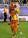 Grambling States mascot in action during the game between the Grambling State Tigers and the TCU Horned Frogs  at the Amon G. Carter Stadium in Fort Worth, Texas. TCU defeats Grambling State 59 to 0.