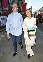 guest and Laura Bailey at the Royal Academy of Arts Summer Exhibition 2019 preview party, Royal Academy of Arts, Burlington House, Piccadilly, London, England, UK, on Tuesday 04th June 2019.<br /> CAP/CAN<br /> ©CAN/Capital Pictures