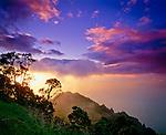 Ocean view from Waimea Canyon, Kauai Island, Hawaii
