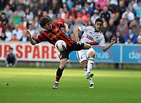 2012 03 11 Premiership, Swansea City v Manchester City, Liberty Stadium, South Wales, UK.