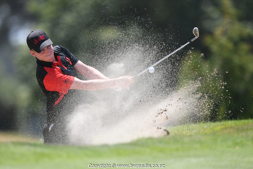 Matt McLean, Canterbury, 2019 New Zealand Men's Interprovincials, Hastings Golf Club, Hawke's Bay, New Zealand, Tuesday 26th November, 2019. Photo: Kerry Marshall/www.bwmedia.co.nz