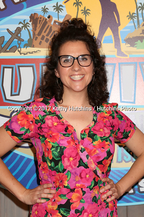 """LOS ANGELES - MAY 24:  Aubry Bracco at the """"Survivor: Game Changers - Mamanuca Islands"""" Finale at the CBS Studio Center on May 24, 2017 in Studio City, CA"""