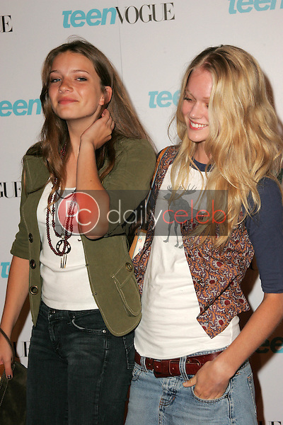 Monterey Salka and Lindsay Ellison<br /> At the release party for the Teen Vogue Young Hollywood Issue, The Hollywood Roosevelt Hotel, Hollywood, CA 09-20-05<br /> David Edwards/DailyCeleb.Com 818-249-4998
