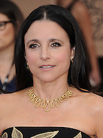 www.acepixs.com<br /> <br /> January 29 2017, LA<br /> <br /> Julia Louis-Dreyfus arriving at the 23rd Annual Screen Actors Guild Awards at The Shrine Expo Hall on January 29, 2017 in Los Angeles, California<br /> <br /> By Line: Peter West/ACE Pictures<br /> <br /> <br /> ACE Pictures Inc<br /> Tel: 6467670430<br /> Email: info@acepixs.com<br /> www.acepixs.com