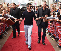 Simon Cowell<br /> arrives for X Factor London Auditions at EXCEL, Docklands, London.<br /> <br /> <br /> ©Ash Knotek  D3134  19/06/2016