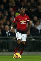 Ashley Young of Manchester United during Tottenham Hotspur vs Manchester United, Premier League Football at Wembley Stadium on 13th January 2019