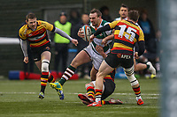 Craig WILLIS of Ealing Trailfinders during the Championship Cup match between Ealing Trailfinders and Richmond at Castle Bar , West Ealing , England  on 15 December 2018. Photo by David Horn.