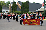 Winter School Band playing in the 4th of July parade