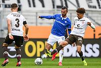 v.l. Leo Oestigard (FC St. Pauli), Serdar Dursun (SV Darmstadt 98), Luis Coordes (FC St. Pauli)<br /> - 23.05.2020: Fussball 2. Bundesliga, Saison 19/20, Spieltag 27, SV Darmstadt 98 - FC St. Pauli, emonline, emspor, v.l. <br /> <br /> Foto: Florian Ulrich/Jan Huebner/Pool VIA Marc Schüler/Sportpics.de<br /> Nur für journalistische Zwecke. Only for editorial use. (DFL/DFB REGULATIONS PROHIBIT ANY USE OF PHOTOGRAPHS as IMAGE SEQUENCES and/or QUASI-VIDEO)