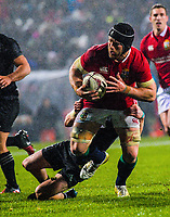 Sean O'Brien in action during the 2017 DHL Lions Series rugby union match between the NZ Maori and British & Irish Lions at Rotorua International Stadium in Rotorua, New Zealand on Saturday, 17 June 2017. Photo: Dave Lintott / lintottphoto.co.nz