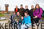 Margaret Gurnett Anthony Dawson Johnny Dawson Stephanie Ronayne Back left to right Aidan Scanlon JP Gurnett Ger Scollard Joe Scanlon Barbara Larkin enjoying the  World Wetlands Day event at Tralee Wetlands  on Sunday