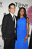 Audra McDonald and hsuband Will Swenson  attends th 66th Annual Tony Awards on June 10, 2012 at The Beacon Theatre in New York City.