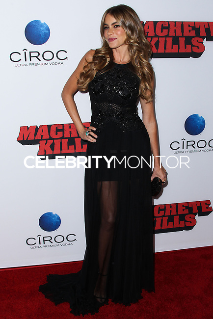"LOS ANGELES, CA - OCTOBER 02: Actress Sofia Vergara arrives at the Premiere Of Open Road Films' ""Machete Kills"" held at Regal Cinemas L.A. Live on October 2, 2013 in Los Angeles, California. (Photo by Xavier Collin/Celebrity Monitor)"