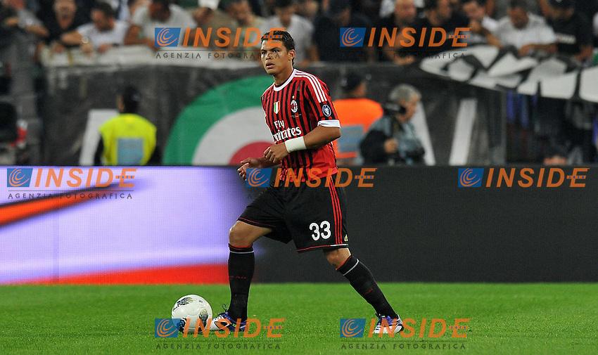 "THIAGO SILVA (Milan).Torino 2/10/2011 Stadio ""Juventus Stadium"".Serie A 2011/2012.Football Calcio JUventus Vs Milan.Foto Insidefoto Alessandro Sabattini."