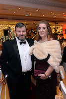 Pictured  at the IHF Ball in the Muckross Park Hotel at the weekend were John and Geraldine O'Mahony, Killarney.<br /> Photo: Don MacMonagle<br /> <br /> Repro free photo