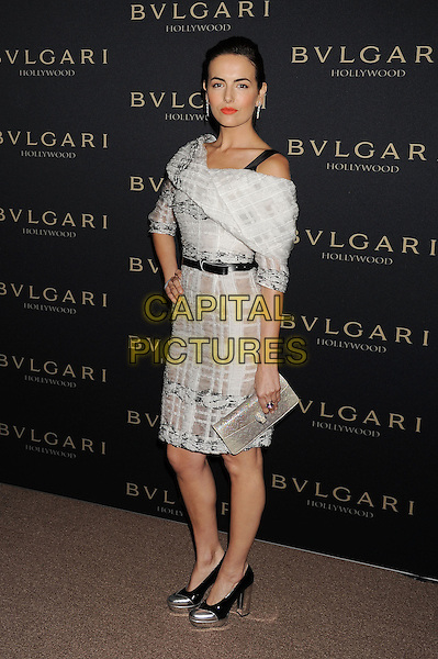 WEST HOLLYWOOD, CA- FEBRUARY 25: Actress Camilla Belle   arrives at the BVLGARI 'Decades Of Glamour' Oscar Party Hosted By Naomi Watts at Soho House on February 25, 2014 in West Hollywood, California.<br /> CAP/ROT/TM<br /> &copy;Tony Michaels/Roth Stock/Capital Pictures