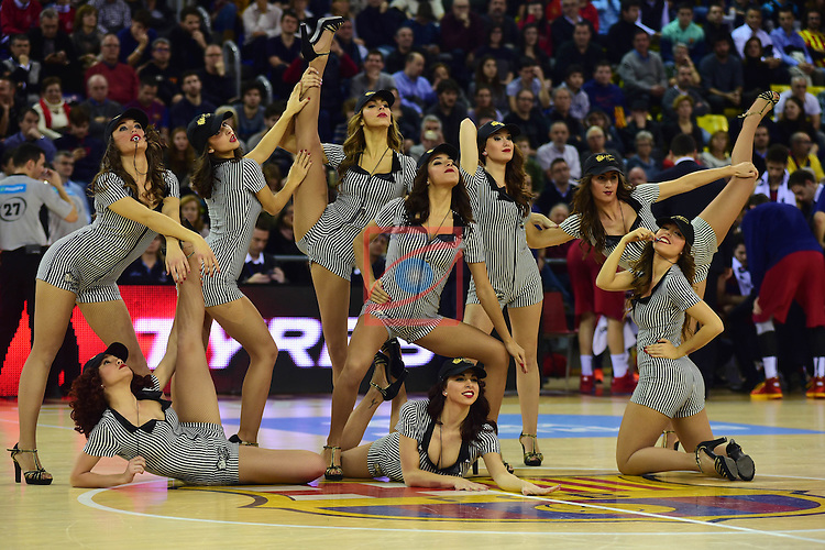 League ACB-ENDESA 2015/2016 - Game: 17.<br /> FC Barcelona Lassa vs Valencia Basket Club: 91-94.<br /> Dream Cheers