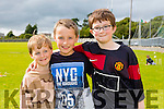 Donnacha O'Brien, Kieran O'Brien and Paul Burke enjoying the NA GAEIL GAA, family fun day on Sunday