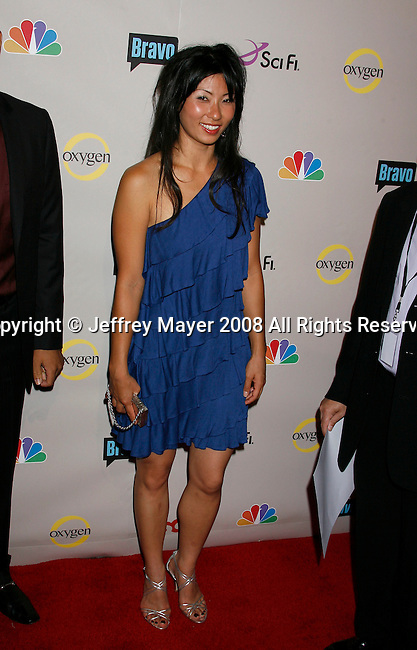 Actress arrives at the NBC Universal 2008 Press Tour All-Star Party at The Beverly Hilton Hotel on July 20, 2008 in Beverly Hills, California.