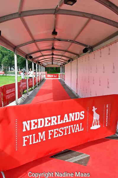 Utrecht, 23 september 2010.Nederlands Film festival 2010.Sfeerfoto's festival, rode loper.Foto: Nadine Maas