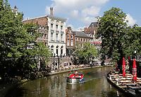 De Oude Gracht in de binnenstad van Utrecht.
