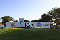 The 17th tee during the Pro-Am of the Challenge Tour Grand Final 2019 at Club de Golf Alcanada, Port d'Alcúdia, Mallorca, Spain on Wednesday 6th November 2019.<br /> Picture:  Thos Caffrey / Golffile<br /> <br /> All photo usage must carry mandatory copyright credit (© Golffile | Thos Caffrey)