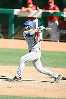Ryan Gebhardt #2 of the Louisiana Tech Bulldogs plays against the Fresno State Bulldogs in the Western Athletic Conference post-season tournament at Hohokam Stadium on May 26, 2011 in Mesa, Arizona. .Photo by:  Bill Mitchell/Four Seam Images.