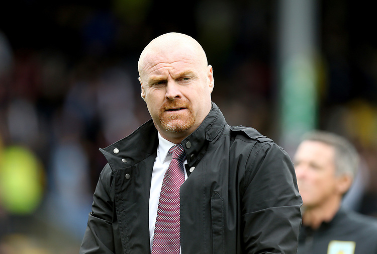 Burnley manager Sean Dyche <br /> <br /> Photographer Rich Linley/CameraSport<br /> <br /> The Premier League - Burnley v Everton - Saturday 5th October 2019 - Turf Moor - Burnley<br /> <br /> World Copyright © 2019 CameraSport. All rights reserved. 43 Linden Ave. Countesthorpe. Leicester. England. LE8 5PG - Tel: +44 (0) 116 277 4147 - admin@camerasport.com - www.camerasport.com